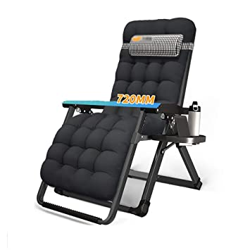 Srjh Chaise Pliante Portable Avec Repose tête, Chaise Longue
