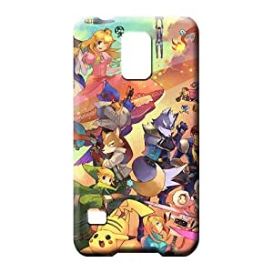 samsung galaxy s5 Extreme Hot phone Hard Cases With Fashion Design mobile phone carrying shells super smash bros brawl