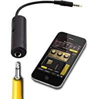iPhoneiPadiPod用 マルチメディア ギター インターフェイス・コンバータ チューナーオーディオケーブル 日本语取扱説明書 オーディオインターフェイス