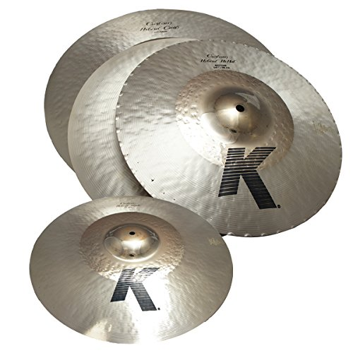 (Zildjian KCH390 K Custom Series Hybrid Box Set Includes 14.25
