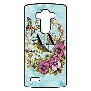 Beautiful Flowers Armani Phone Case Cover For LG G4 Armani Stylish