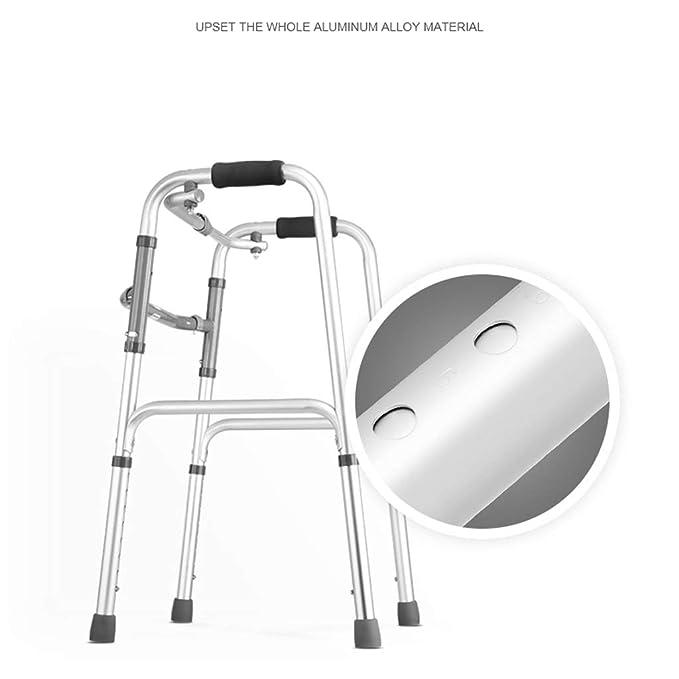 Everyday canne III- Andador Plegable estándar de Plata para ...