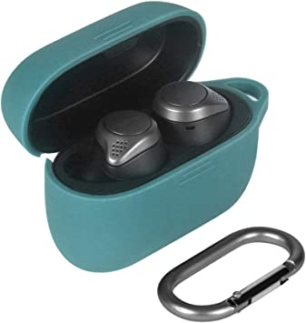 Amazon Com Eyglo Silicone Case For Jabra Elite 75t Active 75t True Wireless Bluetooth Earbuds Protective Case Anti Slip Waterproof Travel Carry Bag With Carabiner Green Home Audio Theater