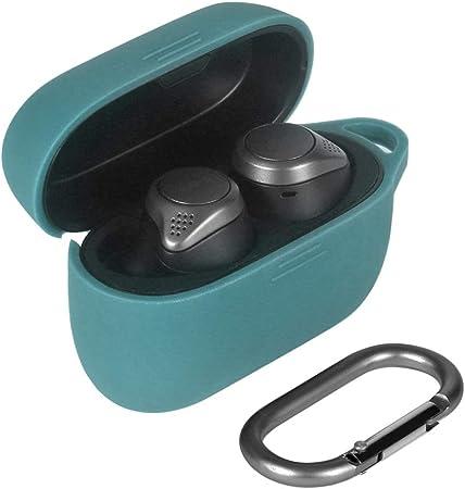 Eyglo Estuche de Silicona para Jabra Elite 75tJabra Elite Active 75t True Bluetooth Inalámbrico Auriculares Estuche Protector Antideslizante