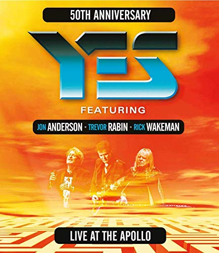 Music : Yes featuring Anderson, Rabin, Wakeman - Live At The Apollo [Blu-ray]