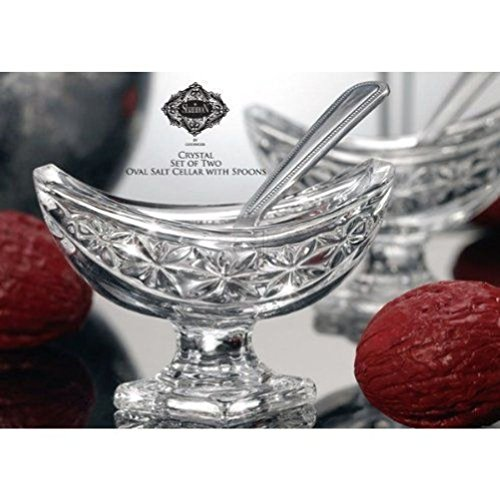 Baroque Sugar Spoon (Oval Salt Cellar Pair)
