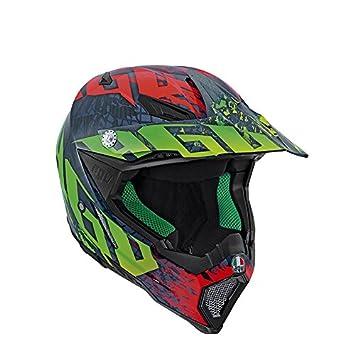 AGV Helmets Casco integral Carbon 8 E2205, Multicolor (Nohander), talla XXXL
