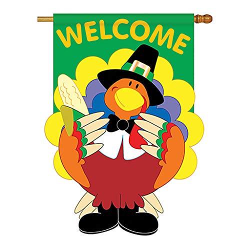 Welcome Turkey Decorative Banner