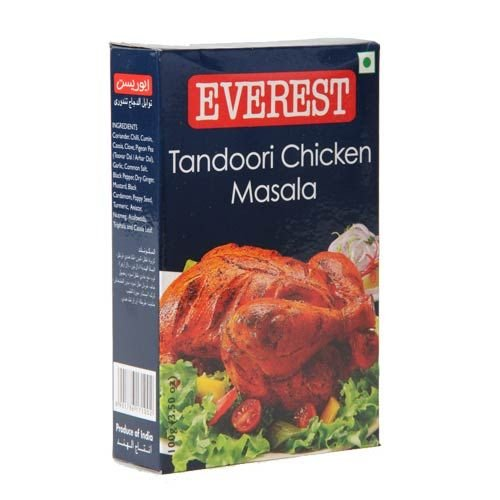 Everest Tandoori Chicken Masala Used to Give Chicken a Luscious, Inviting Flavour (100 Gms)
