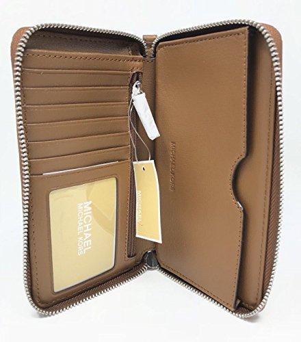 Michael Kors JS Travel Lg MF Phone Case Studded Wristlet - Iphone Kors Michael 4 Case Wallet