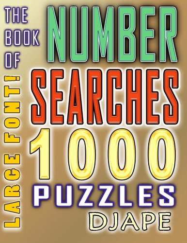 book Number Searches 1000 Puzzles