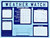 American Educational Vacuum Formed Weather Watch Board, 45'' Length x 35'' Height