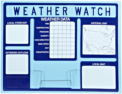 American Educational Vacuum Formed Weather Watch Board, 45'' Length x 35'' Height by American Educational Products