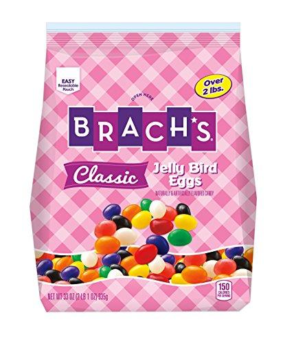 Brach's Jelly Bird Eggs, Classic Flavors, 33 Ounces