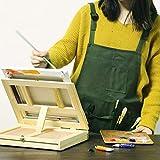 Adjustable Artist Apron with Pockets for Women Men