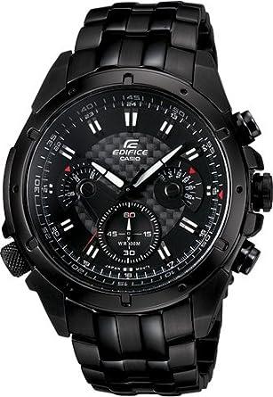e0863bacd8 [カシオ]CASIO 腕時計 EDIFICE エディフィス EF-535BK-1AV ブラック メンズ 海外モデル