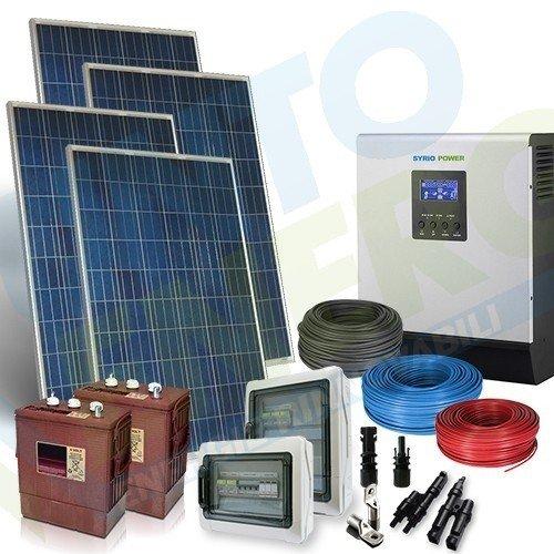 Kit fotovoltaico de 4 KW a 48 V