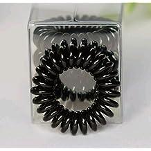 Name Brand Hair Ties, Traceless Hair Cords (Black)