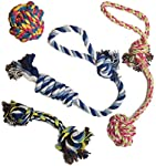 Everyone loves to play with their dog. Show him or her some extra attention with these fun rope toys. They are built to be durable with high-quality 100% cotton fabric so that you and your dog will get great use and enjoyment from them.