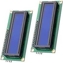 LGDehome IIC/I2C/TWI LCD 1602 16x2 Serial Interface Adapter Module Blue Backlight for Arduino UNO R3 MEGA2560( pack of 2)