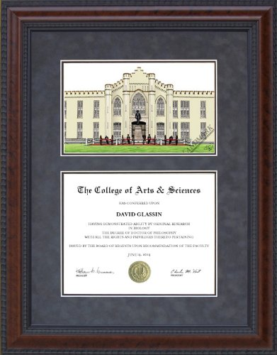 Amazon.com : Diploma Frame with Virginia Military Institute (VMI ...