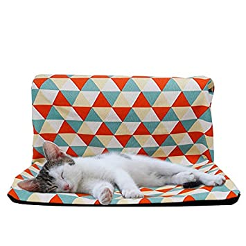 JLFAIRY Hamaca para Gatos Radiador para Mascotas Ventana Sofá Camas Colgantes Enfriamiento Cojines para Gatito Hurón Cachorro Casa De Gato: Amazon.es: ...