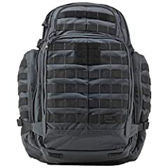 The RUSH 72 is engineered to be a full featured 72 hour bag that provides ample space for gear and accessories while remaining rugged and reliable enough for extended excursions or tactical deployments. Highly resilient, water repellent 1000D...