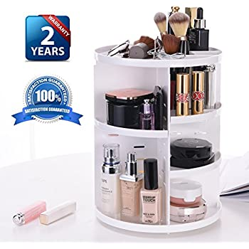 Amazon Com Jerrybox Makeup Organizer 360 Degree Rotation