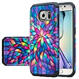 Galaxy S7 Case, Samsung Galaxy S7 [Shock Absorption / Impact Resistant] Hybrid Dual Layer Armor Defender Protective Case Cover for Galaxy S7, Rainbow