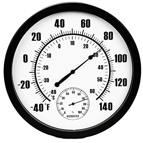 ZUZEN Indoor Outdoor Thermometer, 10