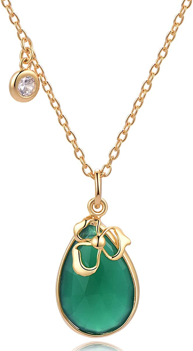 green necklace gold dipped agate pendant green agate pendant Agate necklace