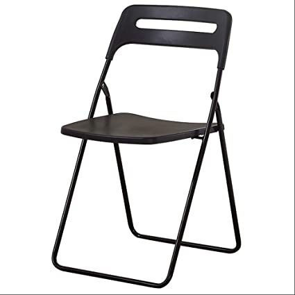 Enjoyable Amazon Com Paddia Folding Office Chair Black Faux Leather Pabps2019 Chair Design Images Pabps2019Com