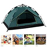 Pop Up Beach Tent,2-3-4 Person Automatic Tent Spring-Style Quick-Open Rainproof Sunscreen Tent,Portable Instant