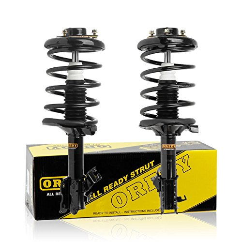 Front Pair Quick Strut Complete Assembly Shock Absorber for 2002 2003 Nissan Maxima 2002-2004 Infiniti i35