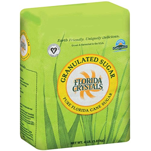 Price comparison product image Florida Crystals Inc Organic Granulated Cane Sugar,  4 Pound -- 10 per case.