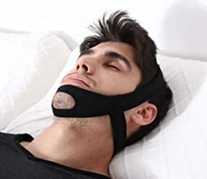 Reduce Snoring Chin Straps, Updated Version Snoring Solution Devices, Comfortable Adjustable Stop Snoring Chin Straps