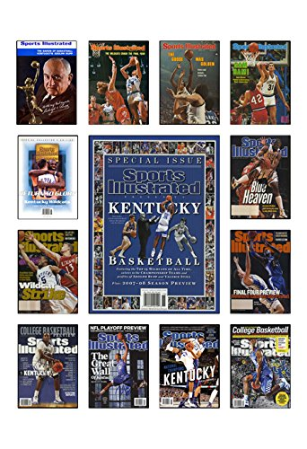 Kentucky Wildcats Sports Illustrated Cover Collection Poster (Kentucky 1978 Basketball)