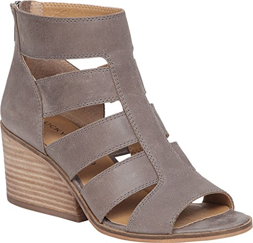 Driftwood Leather us Lucky Dark Sandales Brand Frauen Femme wRUqq7WBxY