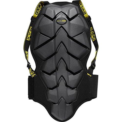 Safe-Max® Umschnall-Rückenprotektor 1.0 schwarz L