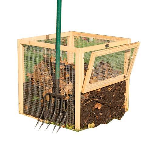 Malla de alambre Premium cubo de basura para abono con ...