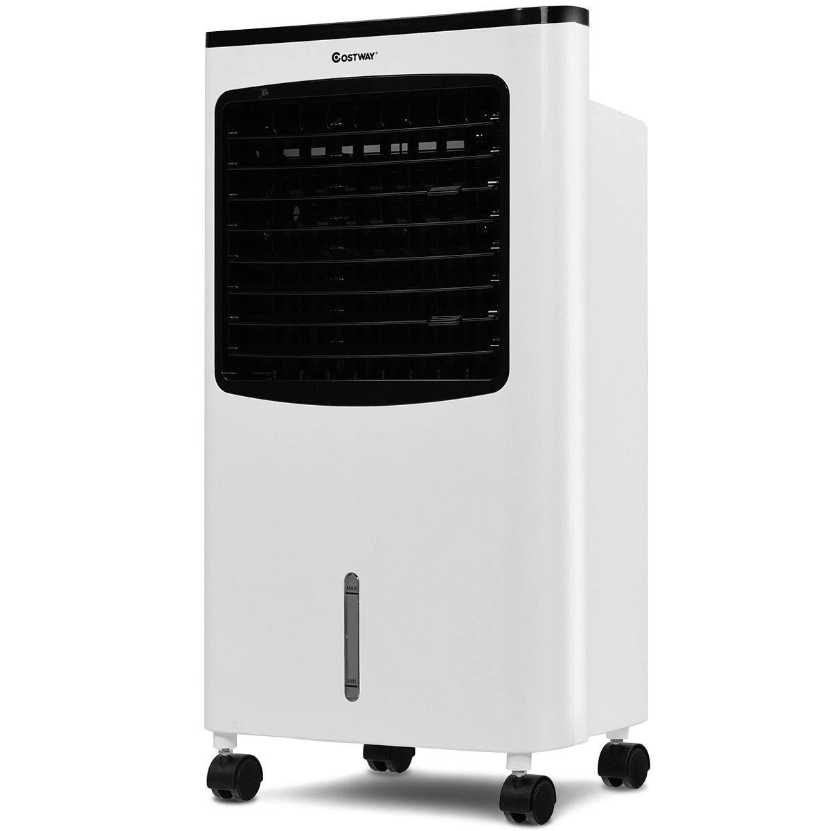 Toolsempire Air Conditioner Cooler with Fan & Humidifier Portable Evaporative Quiet Electric Fan with Filter Knob Control (24 H)
