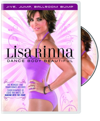 Lisa Rinna  Dance Body Beautiful  Jive  Jump  Ballroom Bump