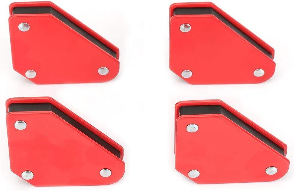 4pcs 9LB Angle Soldering Locator Magnetic Magnet Corner Arrows Welder Welding Holder Tool Welding Magnetic Holder