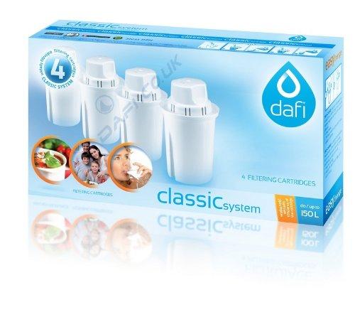 Dafi Standard Filtro dell' Acqua, Multicolore, Confezione da 4 Prezzi