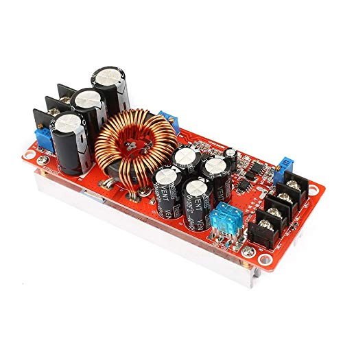 ningbao951 Portable 1200W Constant Current DC Boost Converter Power Supply Step-up Module 10V-60V 20A Input 12V-80V Output