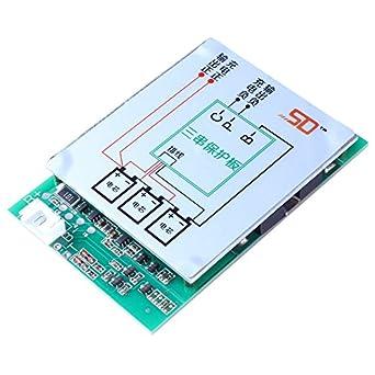 Icstation 12 V 150 A 3S Protección de Batería de Litio PCB BMS con ...