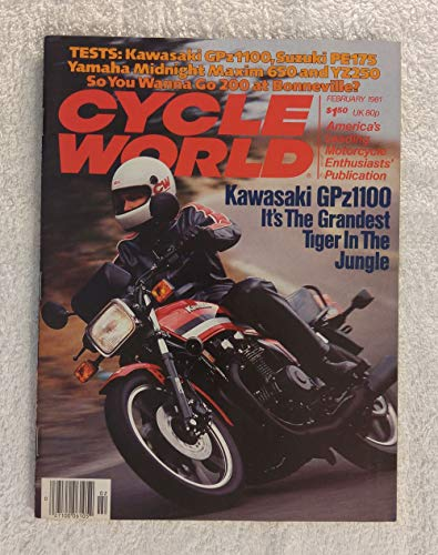 Kawasaki GPz1100 - It's the Grandest Tiger in the Jungle - Cycle World Magazine - February 1981