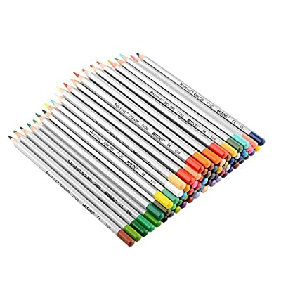 New 48 Color Art Drawing Oil Base Non-toxic Pencils Set For Artist Sketch
