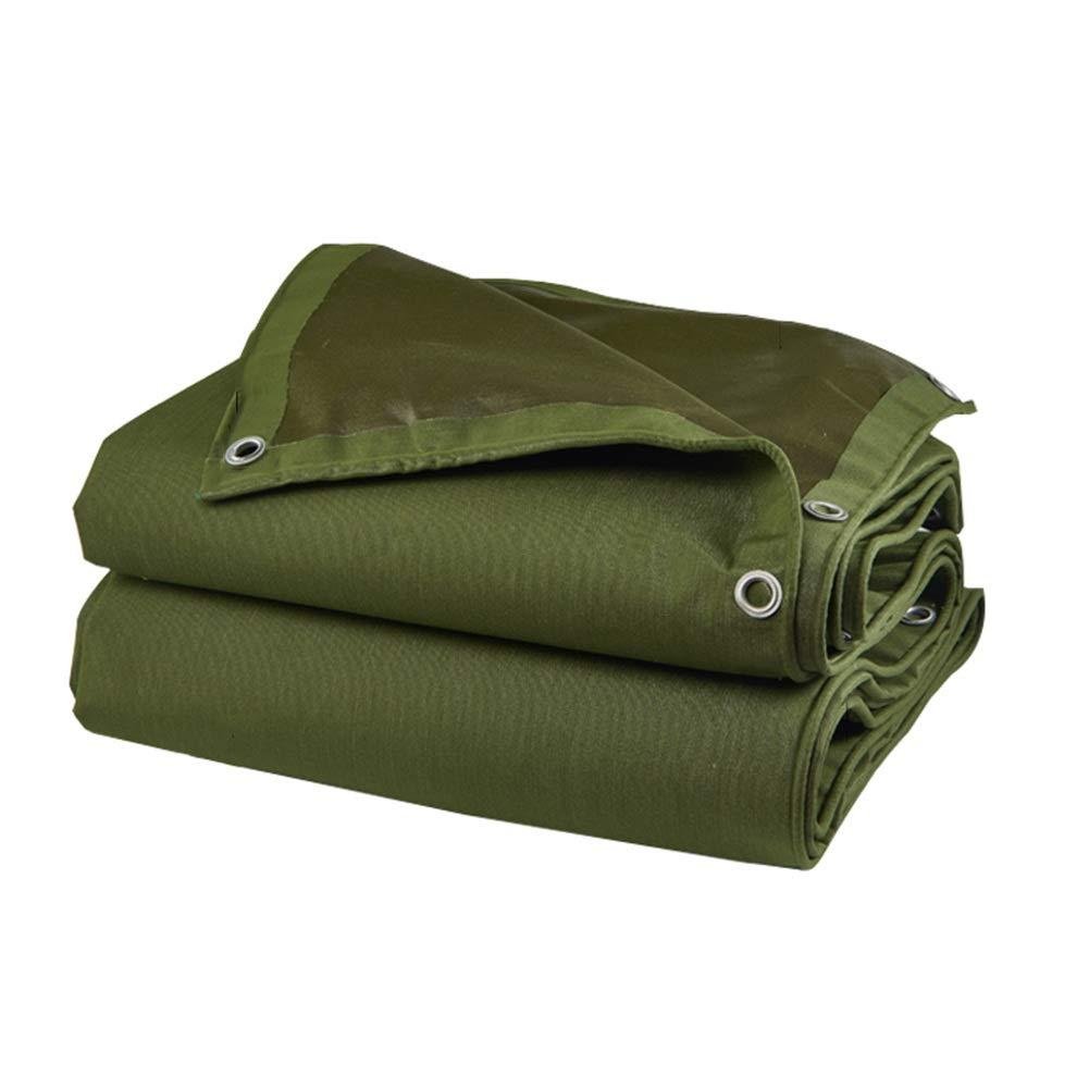 LIXIONG オーニング屋外の シェード 流した布 絶縁 保存料 水漏れなし 防雨布、 19サイズ (色 : 緑, サイズ さいず : 3.85×2.85m) 3.85×2.85m 緑 B07Q9QK8TL