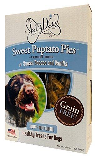 The Lazy Dog Grain Free Sweet Puptato Pies 12 Oz.